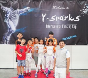 2016 8th International Fencing Cup 2016 (Singapore)