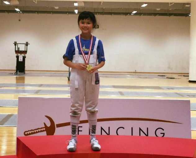 WingWing-Singapore Minime U-10 Fencing Championships 2016