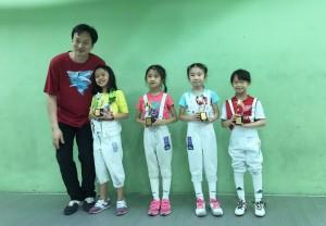 2016香港兒童劍擊賽 01
