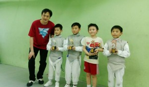 2016香港兒童劍擊賽 02