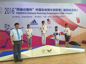 2016 Chinese Fencing Association Club League (4th)6