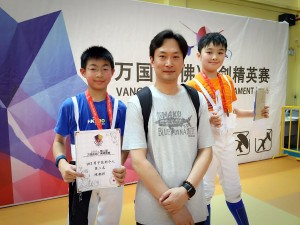 2016 VANGO Elite Fencing Tournament– Laiwan 03