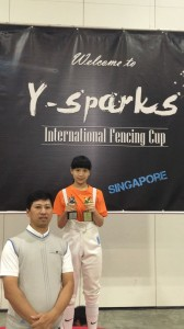 8th International Fencing Cup 2016 (Singapore) 01