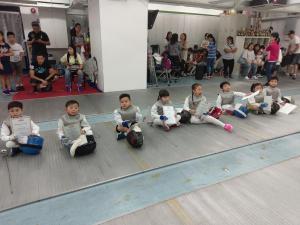 2017 卓毅暑期劍擊比賽2017