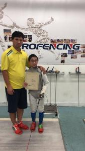 2018 3rd Expert Cup Asian Youth Fencing Competition 07