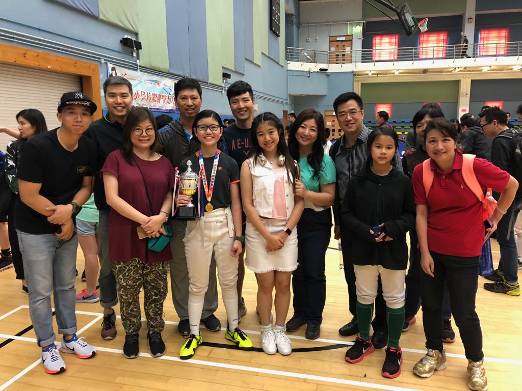 2018 All Hong Kong Inter-Primary Schools Fencing Competition (Girl's A) 01