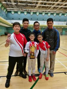 All Hong Kong Inter-Primary Schools Fencing Competition BoysC&B 09