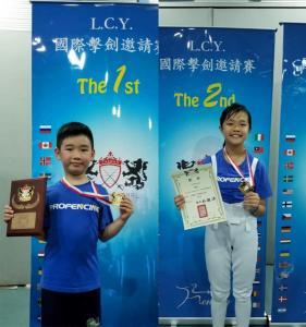 2019 - 2019第六屆臺中市L.C.Y.擊劍國際邀請賽