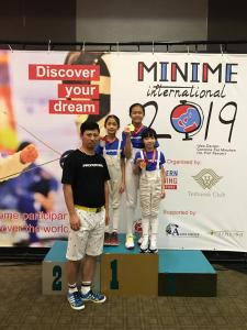 2019 - Singapore Fencing Minime International 2019