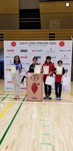 2020 - Tokyo Open Fencing 2020